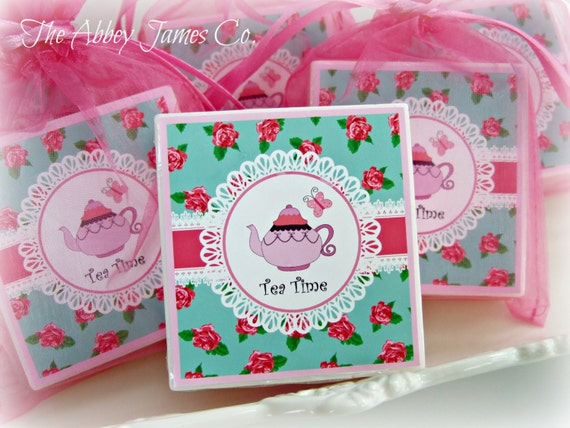 tea party favors birthday party favors baby shower favors girls tea