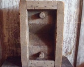 Vintage Industrial Solid Wood Factory Mold Pipe Industry