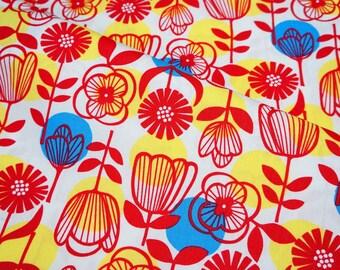 Lecien Print Flowers Half meter (n341)