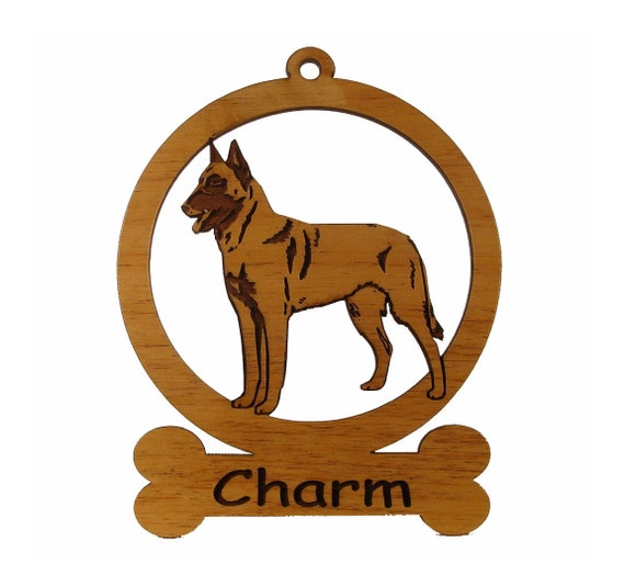 Belgian Malinois Ornament 081623 Personalized With Your Dog's Name
