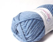Baby Blue Felting Wool Yarn Uni 17