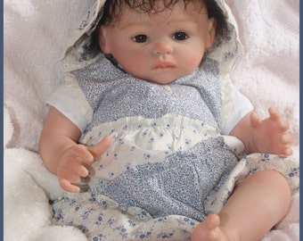 Custom made Secrist Reborn Baby~ Fake Baby~  You pick face sculpt, hair color, and eye color