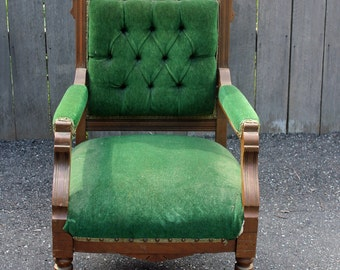 Design your Own Antique Victorian Eastlake Chair - Custom Order
