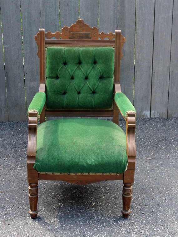 Design your Own Antique Victorian Eastlake Chair by ...