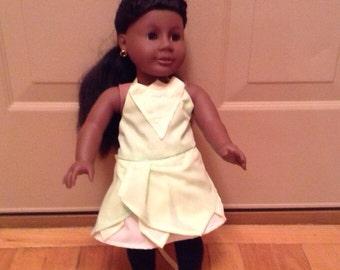 "18"" Tiana Doll Dress"