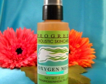 Natural Clarifying Oxygen Facial Mist with Tea Tree and Neem  Vegan Natural  non toxic skin care