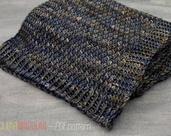 Lakewood Scarf - PDF Knitting Pattern