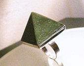 NEW SupHerOrgone Receive Money Orgone Pyramid Ring or Necklace