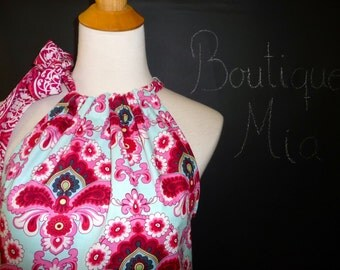 Pillowcase DRESS or TOP - Amy Butler - Belle - Made in ANY Size - Boutique Mia