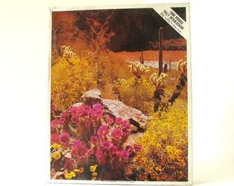 "Vintage 1970's ""Salt River, Arizona"" 1000 Piece Whitman Jigsaw Puzzle, No. 4777"