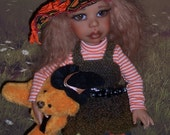 OOAK Halloween fashion set for YOSD BJD Girls