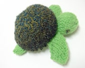 Knit Toy - Sea Turtle - Toddler Gift - Stuffed Animal