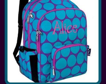 School Ager Macropak Personalized Backpack - Monogrammed