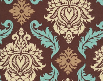 Joel Dewberry Damask in bark from Aviary 2 line - one yard cotton