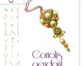 pendant tutorial / pattern Coriolis pendant...PDF instruction for personal use only
