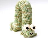 Archie Inchworm Amigurumi Plush Toy Knitting Pattern PDF Instant Download