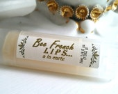 Honey Sticks Bee French Lip Gloss Organic Extreme Moisture for Plump and Healthy Lips.  Local Apiary.