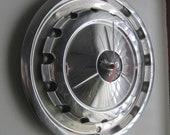 1957 Chevy Hubcap Clock no.2362