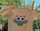 Organic Teal Owl