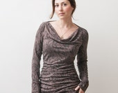 Jersey Long Sleeve Top Size 8-10 Fabric is very stretchy