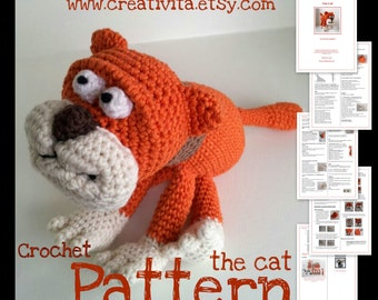 The Cat - a crochet pattern