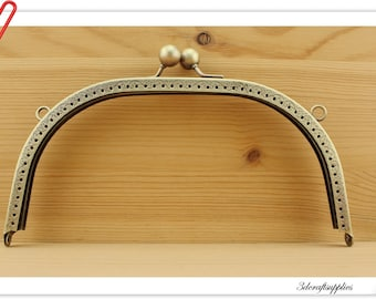 8 inch x 3 3/4 inch (20.5cm x 9cm ) Anti bronze Sewing  purse frame wallet frame Clutch purse frames Y55
