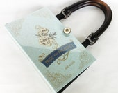 Jane Austen Pride and Prejudice Book Purse - Jane Austen Lover Gift - Pride and Prejudice Book Cover Handbag - Jane Austen Book Clutch