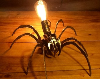 Large spider lamp