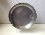 Vintage NAMBE Round Ashtray Dish Number 727 Signed Modern