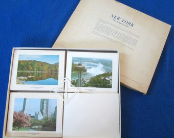 Color Notes Cards New York Bright of America Envelopes Scenic Pictures Empire State