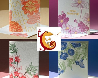 Your Choice 4 Cards - Botanical Assortment 4 for the price of 3