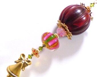 Ooak Christmas Ornament Dr Seuss Ical Sugarplum With A