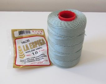 Omega Nylon Crochet Thread Seagreen Size 18 - Hilos La Espiga 100% Nylon Crochet Thread - Ready to Ship - Direct Checkout