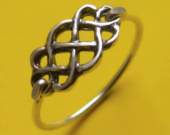 Sterling Silver Celtic Infinity Knot Ring