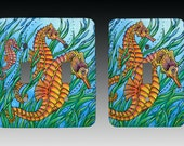 Seahorses, Switchplate, Lightswitch Cover, Lightswitch Plate, Switch Plate