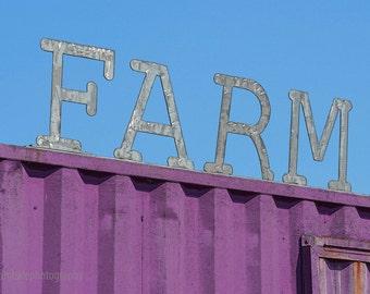 FARM - 4 x 6 photograph