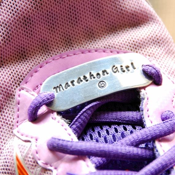 Shoe Tag Shoe Lace Plate Runner Gift Marathon Runner