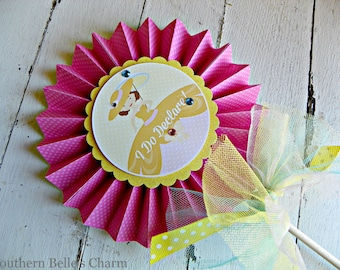 Southern Belle Centerpiece Pinwheel...Set of 1 Pinwheel
