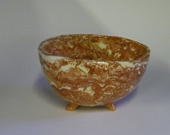 Agateware Large Bowl/Basket