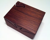 3 piece walnut puzzle box