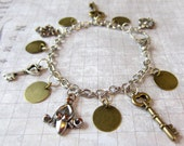 Restyled Boho Hippie Charm Bracelet