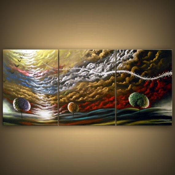 Landscape Abstract Art Art Painting Landscape