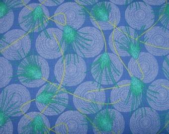 COUPON Code Sale - FAT QUARTER - End of Bolt - Dan Bennett, Cosmos, Allusions, Cerulean Blue, Rowan Westminster, 100% Quilt Fabric, Fat Qtr