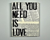 Literary Canvas- All You Need Is Love