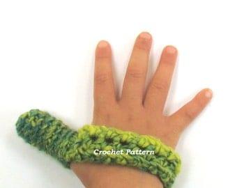 Thumb Sucking Helper Crochet Pattern - DIY YOUR OWN - Thumb Guard - Thumb Cozies