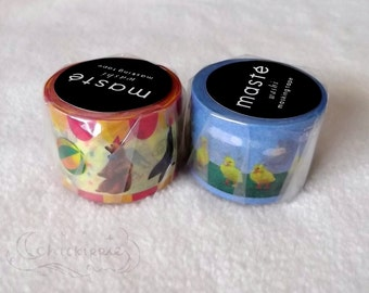 Mark's Maste Mini Washi Masking Tape - Farm / Circus