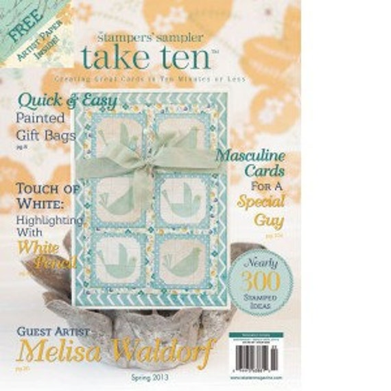 Take Ten Magazine - Spring 2013 - Stampington - Create Great Cards
