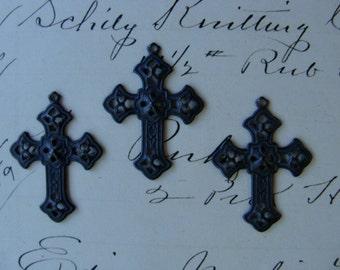 Edwardian Gothic Ornate Cross Lot