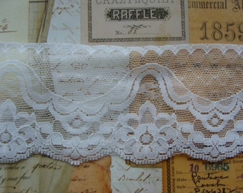 Vintage Wedding Lace 3 Yards Scrumptious Bridal Netted Lace