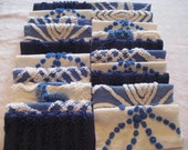 RESERVED - 40 Vintage Chenille Squares